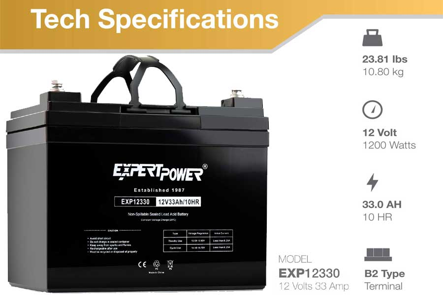 lightweight car battery