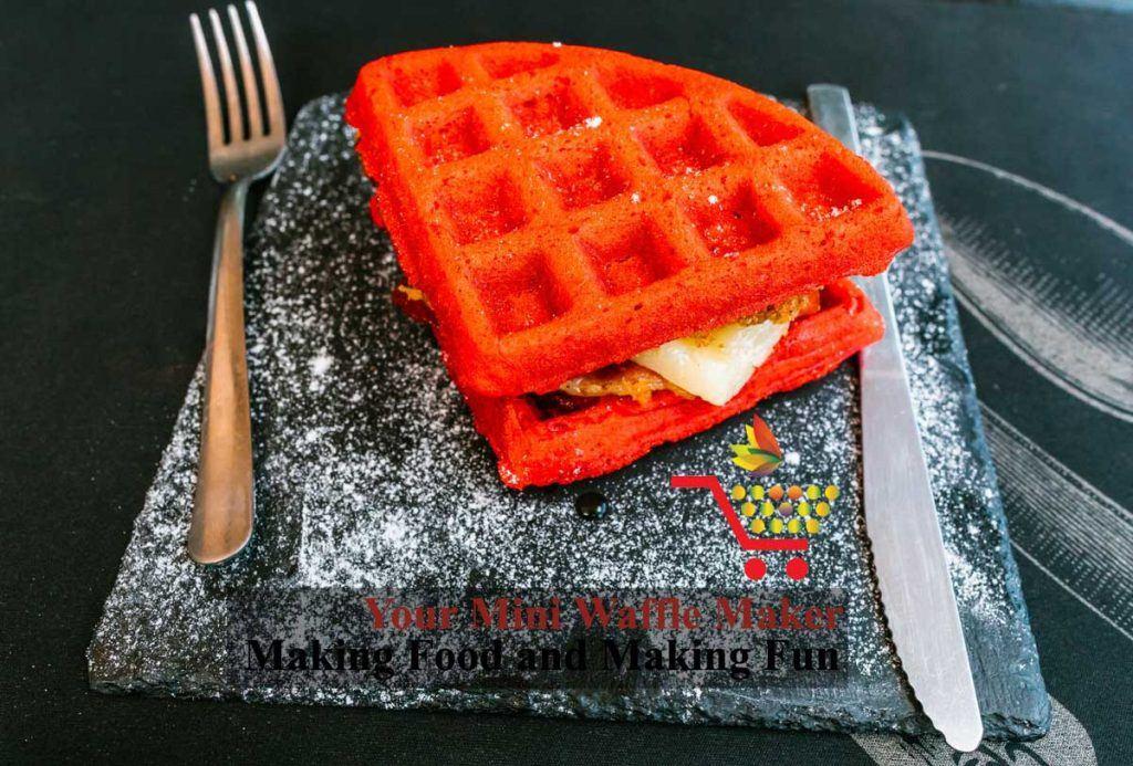 waffle press