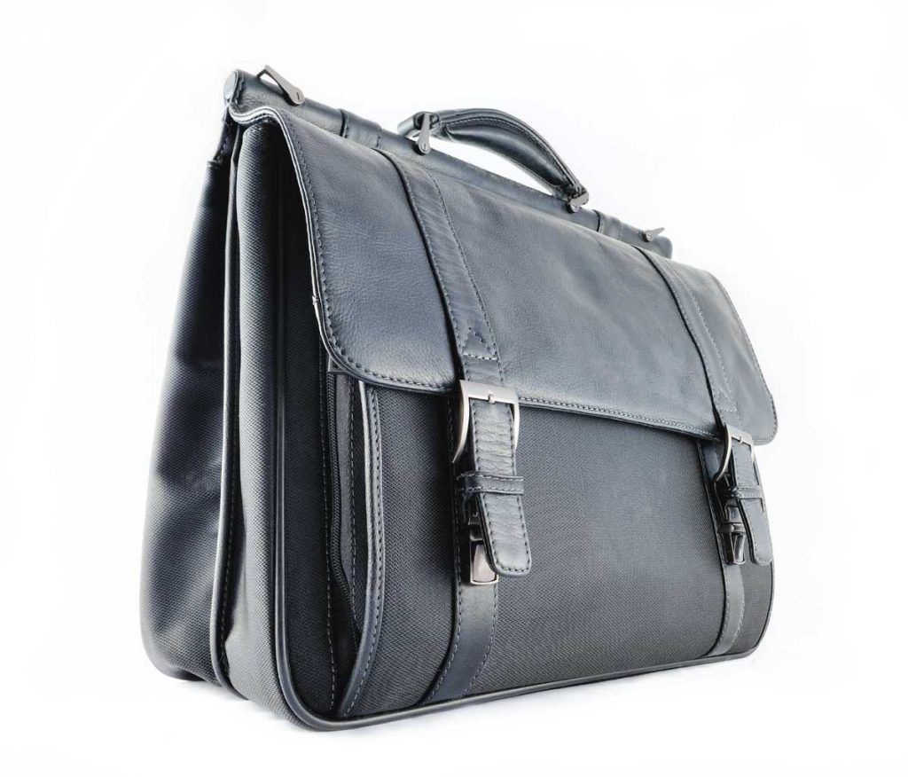 professional leather briefcase