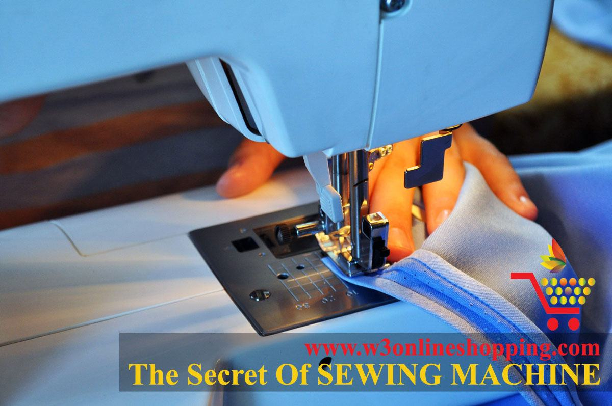 The Secret of SEWING MACHINE | w3onlineshopping